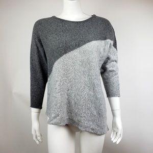 Market & Spruce Stitch Fix Gray Nina Sweater M